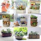 Succulent Planter Vase Flower Plant Bonsai Pot Garden Herb Trough Box Bed Basket