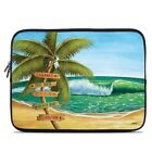 Zipper Sleeve Bag Cover - Palm Signs - Fits Most Laptops + MacBooks