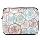 Zipper Sleeve Bag Cover - Micro Flowers - Fits Most Laptops + MacBooks