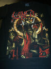 SLAYER REIGN IN BLOOD 30TH ANNIVERSARY OFFICIALLY LICENSED T-SHIRT NEW !