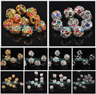 6mm/8mm/10mm/12mm Austria Crystal Rhinestone Loose Finding Beads Wholesale Lots