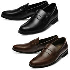 Mooda Mens Leather Loafer Shoes Casual Formal Lace up Dress Shoes InaS UK
