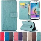 For Samsung Galaxy Leather Magnetic Stand Wallet W/strap Cards Flip Cover Case