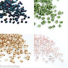 10g(environ 1400pcs) Perles Intercalaires Pr Bracelet Collier 2mm Au Choix