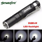 Sporting Goods - Waterproof 3500LM Pocket LED Flashlight Zoomable LED Torch Mini Penlight Light