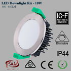 10W 12W 13W LED Downlight DIMMABLE Warm White, Cool White, Chrome/White