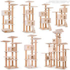 Cat Tree Scratching Post Activity Centre Bed Toy Scratcher Beige Choice of Model