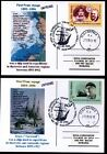ROMANIA 2006 POLAR SHIP FRAM FIRST VOYAGE ANTARCTICA 1893-1896,2 PMK POSTCARDS