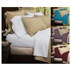 1800 Series Bamboo Sheets 4 Piece Set Bedding with Deep Pockets Soft Microfiber image