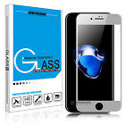 For iPhone 7 / 8 Plus / X Full Coverage Tempered Glass Screen Protector HD Film <br/> ◆US Seller/Stock◆Fast Free Shipping◆!Over 24000+ Sold!