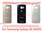 100% Original Samsung Galaxy S6 G920 Verizon Replace Back Rear Glass Cover