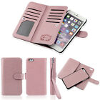 """Luxury Leather Flip Credit Card Slot Stand Case Wallet For iPhone 7 Plus 5.5"""""""