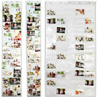 Picture Pockets Hanging Photo Frame Door Wall Display 20/28/50 Photos Holder