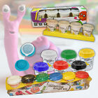 CHILDRENS PLAY DOUGH ART CRAFT KIT SET POT TUBS SHAPES TOYS HOBBY PLASTICINE