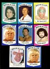 1982 & 1983 WRESTLING ALL STARS LOT OF 8 MOSTLY DIFFERENT *50554