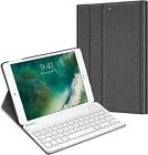 Fintie Slim Folio Leather Smart Cover Case Stand for Apple iPad with Wake/Sleep