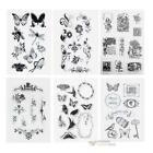 Transparent Clear Stamp DIY Silicone Seals Scrapbooking Card Photo Sheet  #F8s