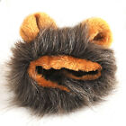 Mane Lion Hair Ears Head Cover Cap for Cat Small Dog Pet Costume Wig Fancy Dress