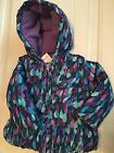 NWT Gymboree Winter Peacock Purple Hooded Coat Jacket 12 24 Months 2T 3T New