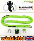 Motorcycle Scooter Mammoth Security Chain Lock 10mm square link chain LOCM009