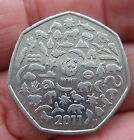 50p COLLECTABLE COIN 2011   WORLD WIDE FUND FOR NATURE