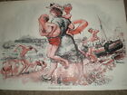 Staggered Holidays by Forster 1949 print ref K