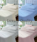 LUXURY QUALITY 100% BRUSHED COTTON FLANNELETTE SHEETS/BED SHEETS,ALL SIZES