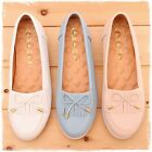 BN Womens Comfy Soft Padded Bowed BALLERINAS Ballet FLATS Casual Work Shoes