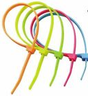 Strong Fluorescent Cable Ties 370mm x 7.6mm, DIY, Electrical projects, UK SELLER