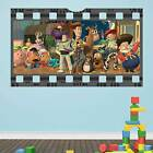 Toy Story Film Strip Large Wall Sticker Decal Kids Mural Poster Decor Vinyl