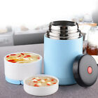 800ml Steel Thermos Vacuum Flask Bento Bottle Insulated Lunch Box Food Container