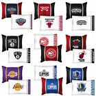 nEw 2pc NBA BASKETBALL PILLOWCASE PILLOW SHAM SET - Sports Team Logo Bedding on eBay