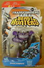 "TRANSFORMERS Prime Beast Hunters SHOCKWAVE Commander 4"" Decepticon NEW!"