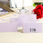 60pcs Carriage Laser Cut Table Place Cards Name Number Wedding Party Decoration