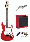 Johnny Brook Electric Guitar Kit Set & 20W Amplifier Music Perfect Gift Package for sale