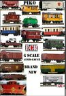 NEW PIKO G SCALE 45mm GAUGE RAILWAY ROLLING STOCK COMPATIBLE LGB ETC TRAIN SET