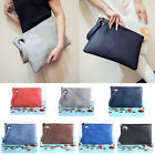 Fashion Women's PU Leather Handbag Clutch Envelope Shoulder Evening Bag Purse