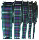 MacKenzie Tartan Ribbon - various widths, cut lengths and 25m reels