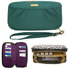 Women's Travelon RFID-Blocking Wallet Zip Clutch Phone Wristlet Purse With Strap