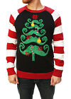 Ugly Christmas Sweater Men's Mustache Christmas Tree Sweater