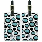 Luggage Suitcase Carry-On ID Tags Set of 2 Dreaming Of F-P