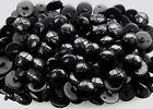 23mm 36L Black Leather Effect Aran Football Quality Shank Buttons 10 20 50 (FB2)