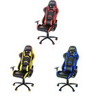 Racing Gaming Chair Office Desk PU Leather High Back Ergonomic Race Car Seat