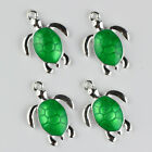 Wholesale!Silver plated Alloy Tortoise Animal Charms Pendant Jewelry Marking