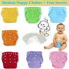 Kyпить 5pcs+ 5Inserts Adjustable Reusable Baby Washable Infant Nappy Soft Cloth Diapers на еВаy.соm