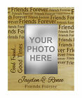 Personalize Friend Forever Engraved Wood Picture Photo Frame Friendship Day Gift - Best Reviews Guide