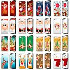 CHRISTMAS XMAS SNOWMAN SANTA PHONE CASE COVER FOR SAMSUNG S4 S5 S6 S6 Edge S7