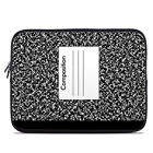 Zipper Sleeve Bag Cover - Composition Notebook - Fits Most Laptops + MacBooks