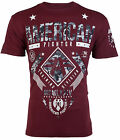AMERICAN FIGHTER Mens T-Shirt LANDER Athletic BURGUNDY GREY CAMO Gym UFC $40 NWT