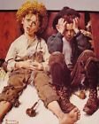 NORMAN ROCKWELL RETRIBUTION FINE ART PRINT